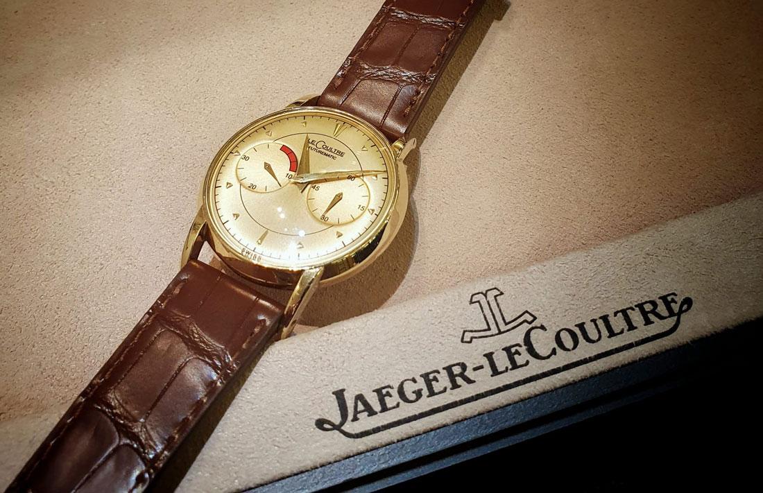 prestige, raymond meeus, le coultre, horloges